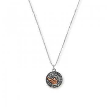Alex And Ani LIBERTY COPPER CARRY LIGHT Necklace Necklaces