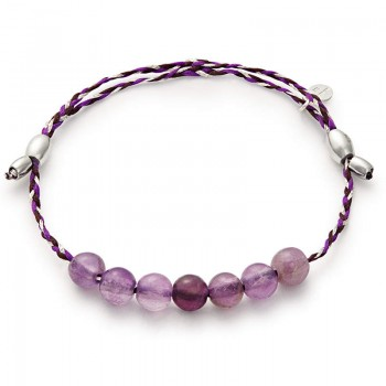 Alex And Ani Amethyst Precious Threads Bracelet Bracelets
