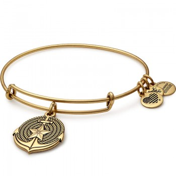 Alex And Ani Anchor Charm Bangle Bracelet Bracelets