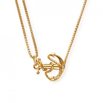 Alex And Ani Anchor Pull Chain Necklace Necklaces