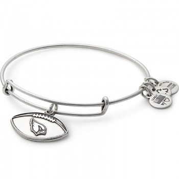 Alex And Ani Arizona Cardinals Football Charm Bangle Bracelets