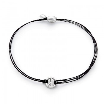 Alex And Ani Black World Peace Kindred Cord | UNICEF Bracelets