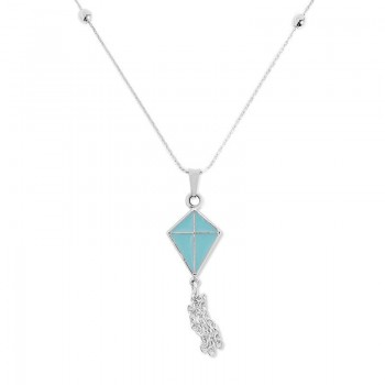 Alex And Ani Blue Inspiration in Flight Expandable Necklace | Flying Kites Necklaces