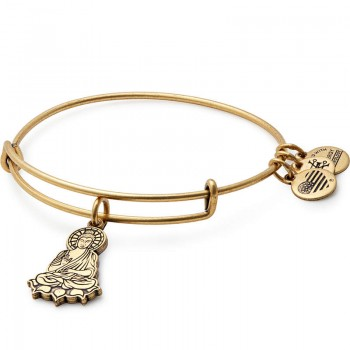Alex And Ani Buddha Charm Bangle - Bracelets
