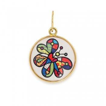 Alex And Ani Butterfly Art Infusion Necklace Charm Necklaces