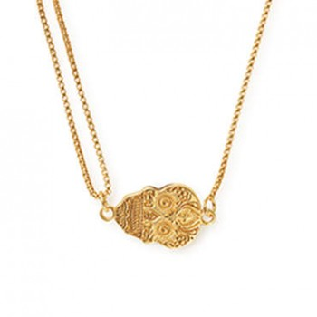 Alex And Ani Calavera Pull Chain Necklace Necklaces