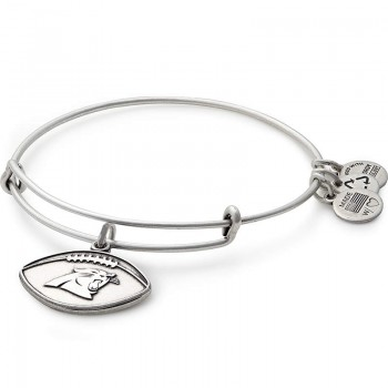 Alex And Ani Carolina Panthers Football Charm Bangle Bracelets