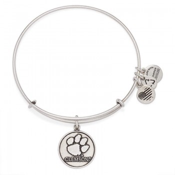 Alex And Ani Clemson University Logo Charm Bangle Bracelets