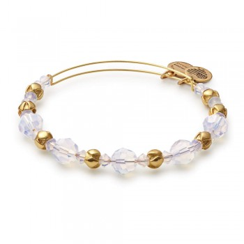 Alex And Ani Cloud Beaded Bangle with Swarovski Crystals - Bracelets