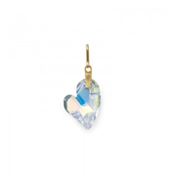 Alex And Ani Crytallized Swarovski Crystal Heart Necklace Charm Necklaces