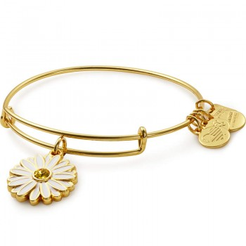 Alex And Ani Daisy Charm Bangle | Let Girls Learn Bracelets