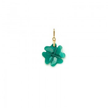 Alex And Ani Emerald Four Leaf Clover Necklace Charm Necklaces