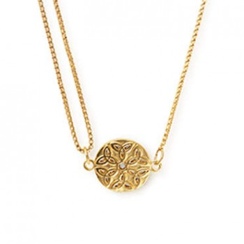 Alex And Ani Endless Knot Pull Chain Necklace Necklaces