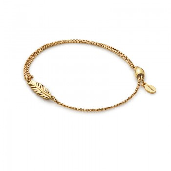 Alex And Ani Feather Pull Chain Bracelet Bracelets