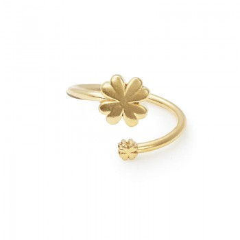Alex And Ani Four Leaf Clover Ring Wrap Rings