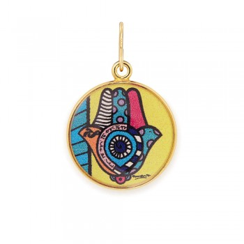 Alex And Ani Hamsa Art Infusion Necklace Charm Necklaces