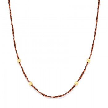 Alex And Ani Harvest Moon Thread Expandable Necklace Necklaces