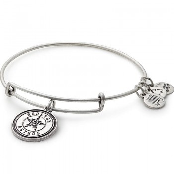 Alex And Ani Houston Astros Cap Logo Charm Bracelet Bracelets