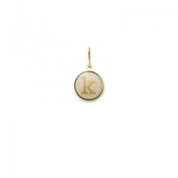 Alex And Ani Initial K Charm Necklaces