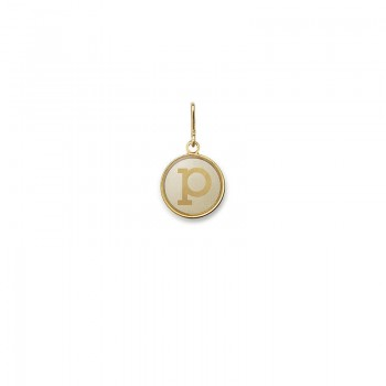 Alex And Ani Initial P Charm Necklaces