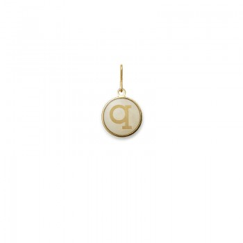 Alex And Ani Initial Q Charm Necklaces