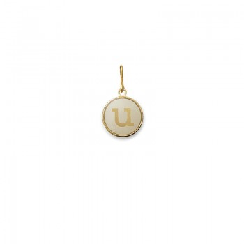 Alex And Ani Initial U Charm Necklaces