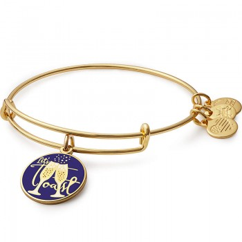Alex And Ani Let's Toast Charm Bangle - Bracelets
