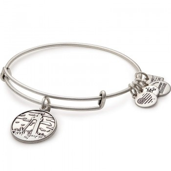 Alex And Ani Lighthouse Charm Bangle | The Leukemia & Lymphoma Society Bracelets