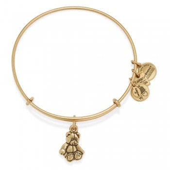 Alex And Ani Little Brown Bear Charm Bangle | Child Mind Institute Bracelets