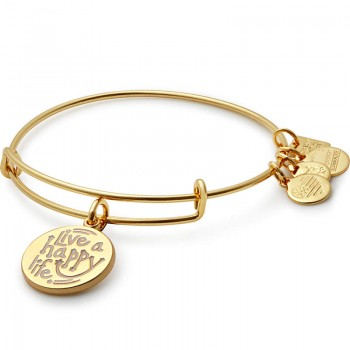 Alex And Ani Live a Happy Life Bangle | Joe Andruzzi Foundation Bracelets