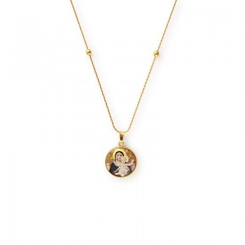 Alex And Ani Madonna of the Lilies Expandable Necklace Necklaces