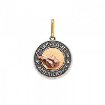 Alex And Ani Medium Charm | LIBERTY COPPER CARRY LIGHT Necklaces