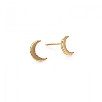 Alex And Ani Moon Post Earrings