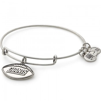 Alex And Ani New York Giants Football Charm Bracelet Bracelets