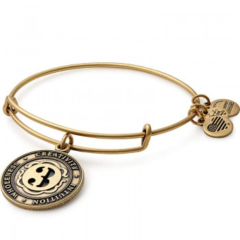 Alex And Ani Number 3 Charm Bracelet Bracelets