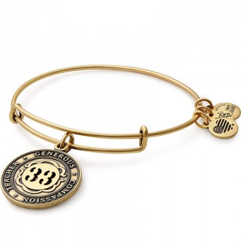 Alex And Ani Number 33 Charm Bracelet Bracelets