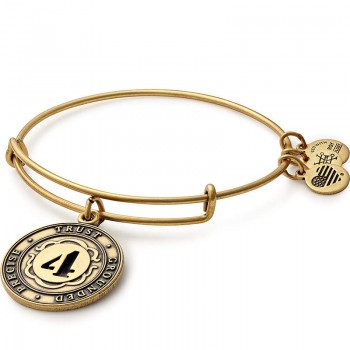 Alex And Ani Number 4 Charm Bracelet Bracelets
