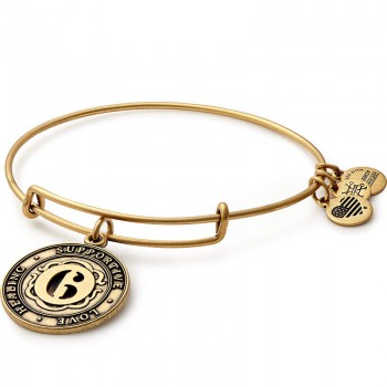 Alex And Ani Number 6 Charm Bracelet Bracelets