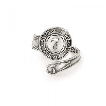 Alex And Ani Number 7 Spoon Ring Rings