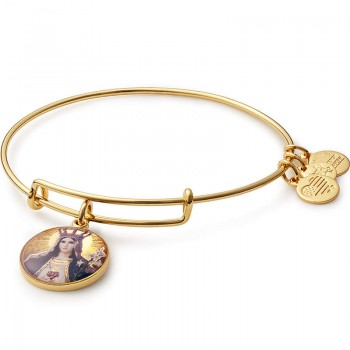 Alex And Ani Our Lady as Queen of Heaven & Earth Bracelet Bracelets