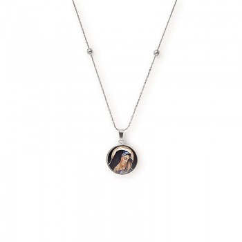 Alex And Ani Our Lady of Sorrow Expandable Necklace Necklaces