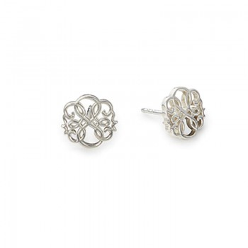 Alex And Ani Path of Life® Post Earrings