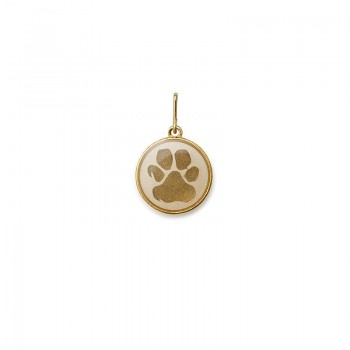 Alex And Ani Paw Print Charm Necklaces
