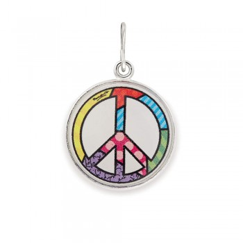 Alex And Ani Peace Sign Art Infusion Necklace Charm Necklaces