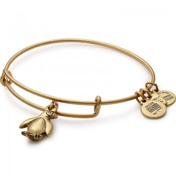 Alex And Ani Penguin Charm Bangle | Association of Zoos and Aquariums Bracelets