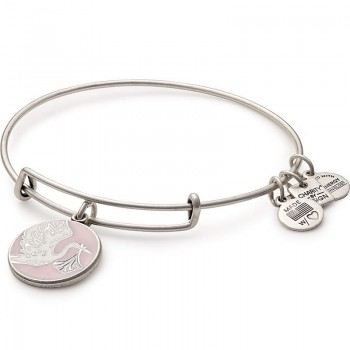 Alex And Ani Pink Special Delivery Charm Bangle | March of Dimes Bracelets
