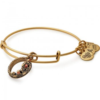 Alex And Ani Queen's Crown Charm Bangle | For Sale Bracelets