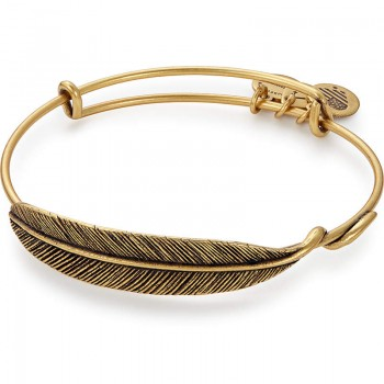 Alex And Ani Quill Feather Wrap Bracelets
