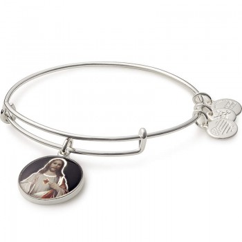Alex And Ani Sacred Heart of Jesus Charm Bracelet Bracelets