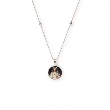 Alex And Ani Sacred Heart of Jesus Expandable Necklace Necklaces